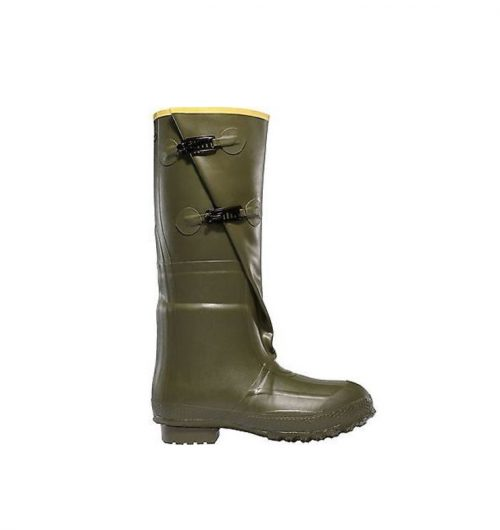 "LaCrosse 2-Buckle 18"" OD Green Utility Boots"