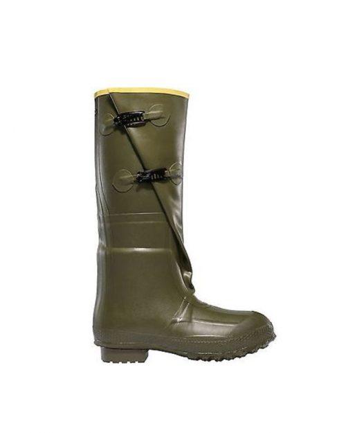 "LaCrosse 2-Buckle 18"" OD Green Utility Boots"