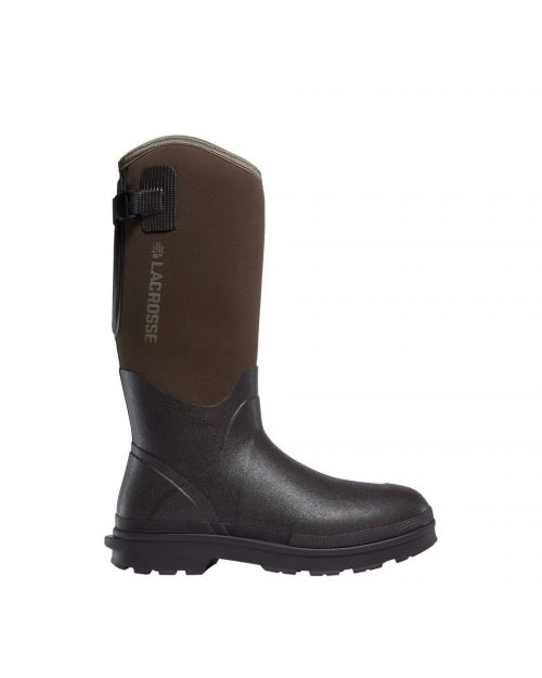 "LaCrosse Alpha Range 14"" Brown 5.0MM Utility Boots"