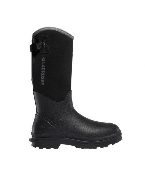 "LaCrosse  Alpha Range 14"" Black 5.0MM Utility Boots"