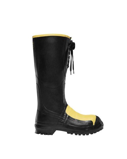"""LaCrosse 16"""" Meta-Pac Black Industrial Boots"""