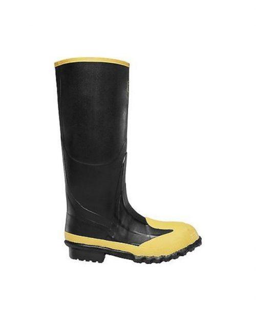 """LaCrosse 16"""" Meta Black MET/SM/ST Industrial Boots"""