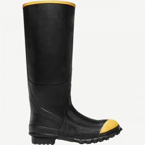 "LaCrosse 16"" Premium Knee Black Industrial Boots"