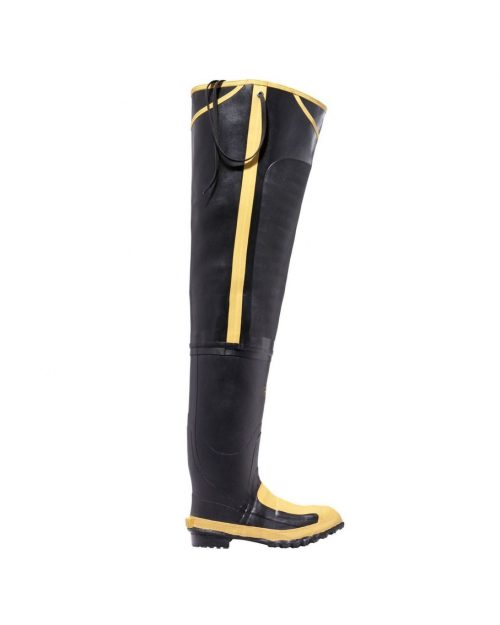 "LaCrosse 32"" Met Hip Boot Black Industrial Boots"
