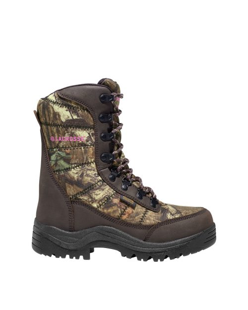 "LaCrosse Silencer 8"" Mossy Oak Hunting Boots"