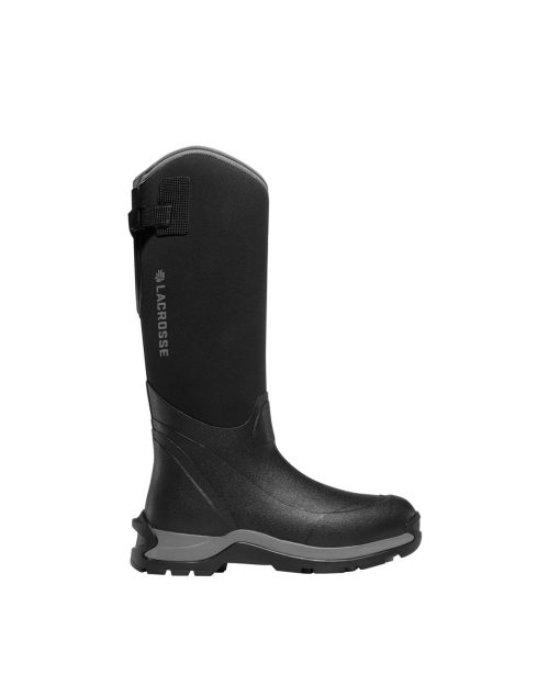 "LaCrosse Alpha Thermal 16"" Black Outdoor Boots"
