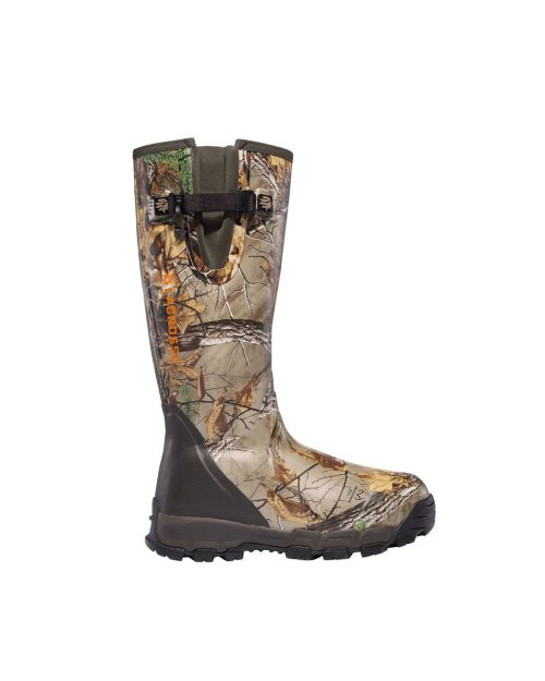 "LaCrosse AlphaBurly Pro Side-Zip 18"" Realtree Xtra 1000G Hunting Boots"