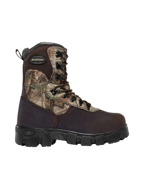 """LaCrosse Game Country 10"""" Realtree AP 1600G Hunting Boots"""