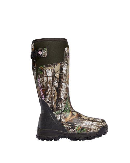 "LaCrosse W AlphaBurly Pro 15"" Realtree Xtra 800G Hunting Boots"