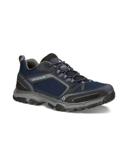 Vasque Inhaler II Low Blue Hiking Shoes