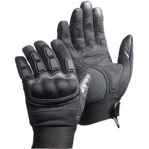 Magnum Force Gloves Black Kevlar Impact & Vibration Resistant All Sizes