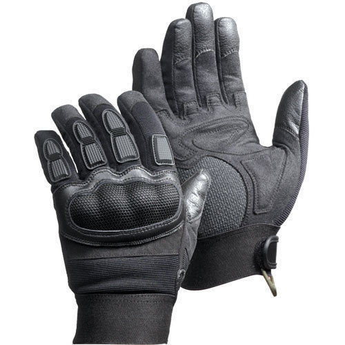 Magnum Force Gloves Black Kevlar Impact & Vibration Resistant All Sizes