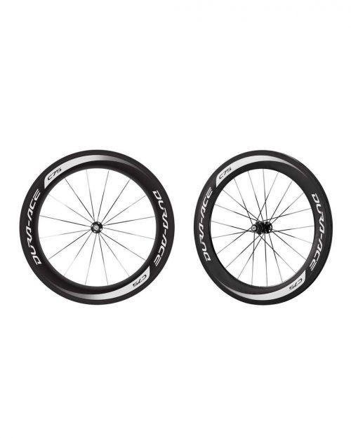 Shimano 75MM Carbon Tubular Wheelset